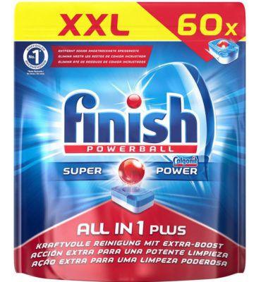 240er Pack Finish All in 1 Plus Spülmaschinentabs für 29,99€