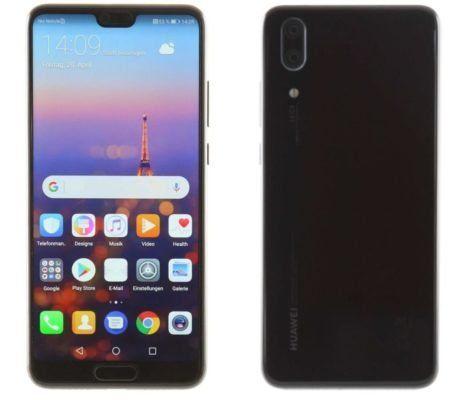 Huawei P20 Smartphone mit 128 GB und 4 GB RAM für 429,99€ (satt 477€)