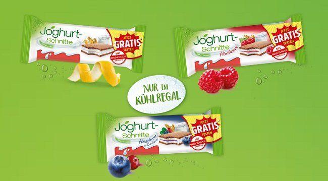 Einen 5 er Pack Joghurt Schnitte gratis