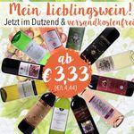 Verschiedene Weine im 12er Set ab 3,33€ pro Flasche + VSK-frei