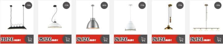 Top12 Blowout Friday: z.B. Karwei Lampen Sale   Retro Industriedesign ab 19,12€