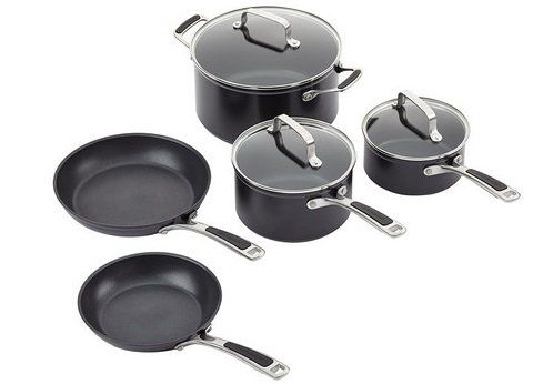 8 teiliges Kitchenaid Kochgeschirr Set (KC2H1S08KD) für 128,90€ (statt 195€)