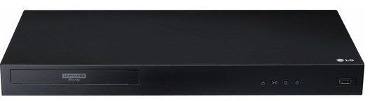 LG UBK80 Blu ray Player (UHD, HDR) für 99€ (statt 130€)
