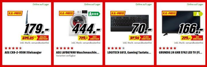 Media Markt FAN OUTLET Special: z.B. HP 14 bs130ng 14Zoll Notebook mit i5 für 549€ (statt 699€)