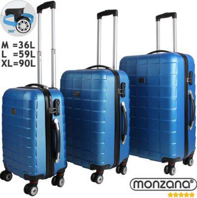 Monzana 3tlg. Koffer Set für 69,95€ (statt 80€)   eBay Plus nur 54,95€!