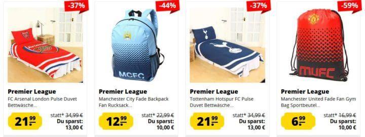 Premier League SportSpar Sale   günstige Trikots und Zubehör ab 1,99€