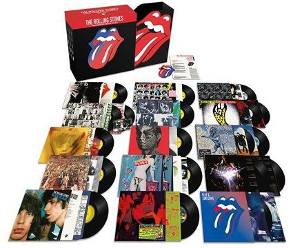 The Rolling Stones: Studio Alben als Vinyl Collection 1971   2016 für 315€ (statt 400€)