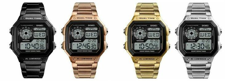 SKMEI 1335 El Luminous   digitale Armbanduhr für ~7,05€
