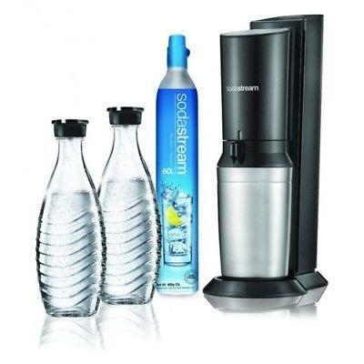 Sodastream Crystal 2.0 Wassersprudler mit zwei Glaskaraffen für 104,99€ (statt 129€)