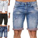 Rusted Neal Destroyed Bermuda Shorts für 35€