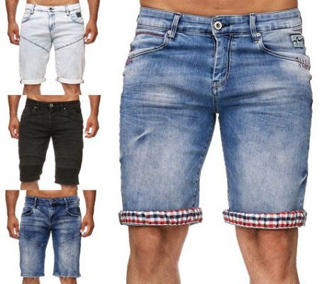 Rusted Neal Destroyed Bermuda Shorts für 35€