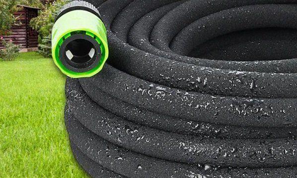 Perlschlauch/Bewässerungsschlauch für den Garten   1/2, 15 m für 6,90€ (statt 11€)