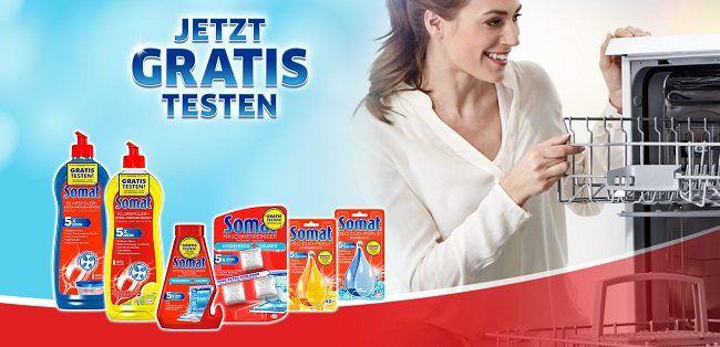 Bis zu 3 Somat Produkte gratis