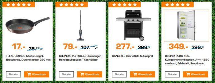 Saturn Startelf Sale: z.B. RESPEKTA KG 185 Kühlgefrierkombination für 349€