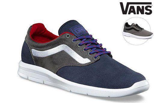 Vans ISO 1.5 Sneaker für 42,90€   z.B. Modell Ballistic (statt 67€)