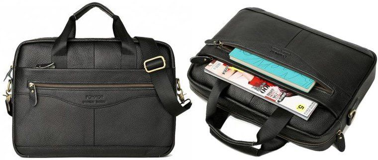 Laptoptasche aus Echtleder für 21,63€