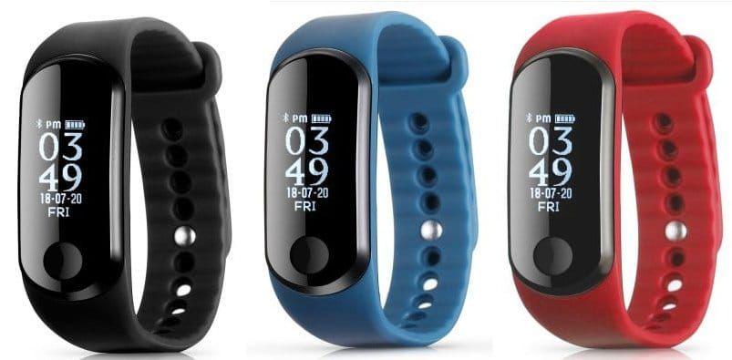 Alfawise Mini 3   Fitnesstracker mit Herzfrequenzmesser für 15,57€