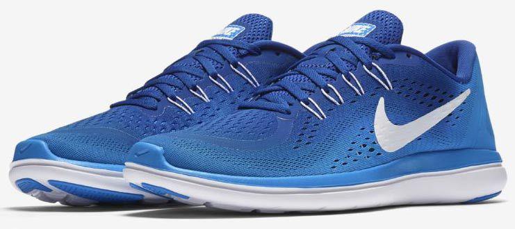 Nike Flex 2017 RN Sneaker in Schwarz & Blau für je  39,18€ (statt 50€)