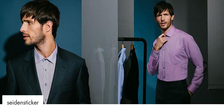 Seidensticker Sale bei vente privee   Hemden ab 15,99€ oder Krawatten ab 10,99€