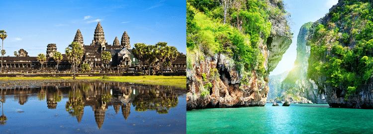 Rundreise durch Thailand, Vietnam & Kambodscha: 19 ÜN inkl. Frühstück, geführte Touren, Flüge, Transfers ab 1.609€ p.P.