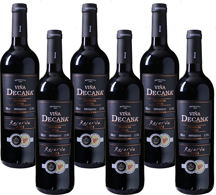 6 Flaschen Viña Decana Reserva Utiel Requena DO für 25,93€