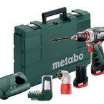 "Metabo 10,8V Akku-Bohrschrauber ""PowerMaxx BS Quick Basic"" für 116,95€ (statt 139€)"