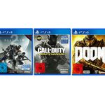 PS4 Games Bundle (DOOM, Call of Duty – Infinite Warfare, Destiny 2) für 19€ (statt 35€) uvm. im Media Markt Dienstag Sale