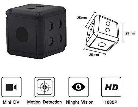 MiniCam mit 1080p, Motion Detection & mehr für 7€ (statt 20€)   Prime
