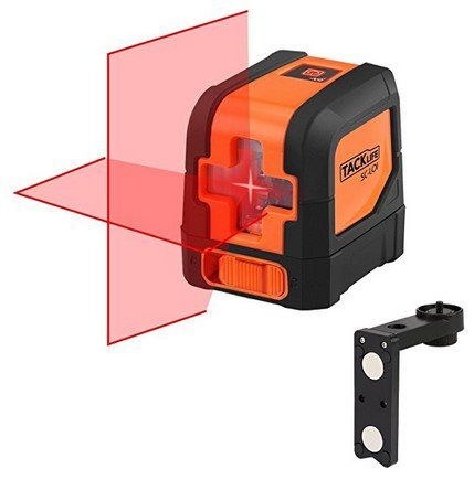 Tacklife SC L01 Klassischer Kreuzlinien Laser mit 10M Messbereich für 27,99€
