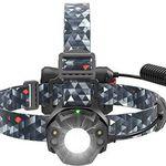 TaoTronics TT-HP006 – LED-Stirnlampe mit CREE + Nichia LED & 4 Modi für 10,99€ (statt 14€) – Prime