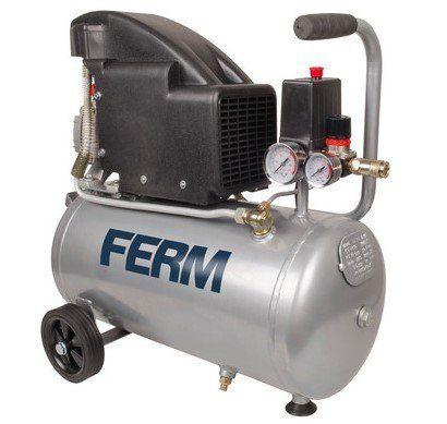 FERM CRM1045   Druckluft Kompressor (1.100 W, 1,5 PS, 24 Liter) für 98,90€ (statt 125€)
