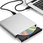 Zacfton – Externes CD/DVD Laufwerk & CD-Brenner für 9,99€ (statt 20€) – Prime