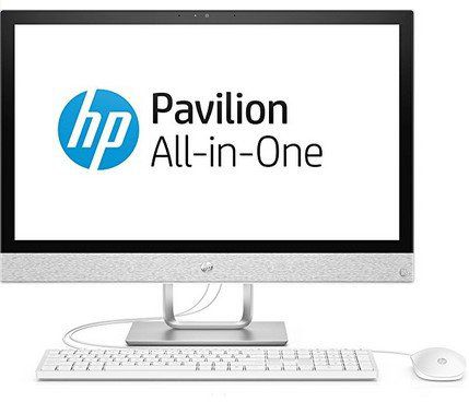 HP Pavilion All in One PC 24 r052ng   All in One PC mit 23,8 IPS Display (i3 7100T, 8GB, 1TB, Win10 für 469€ (statt 645€)