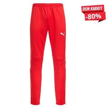 PUMA Herren Trainingshose in Rot (XS bis 2XL) für 12,83€ (statt 30€)