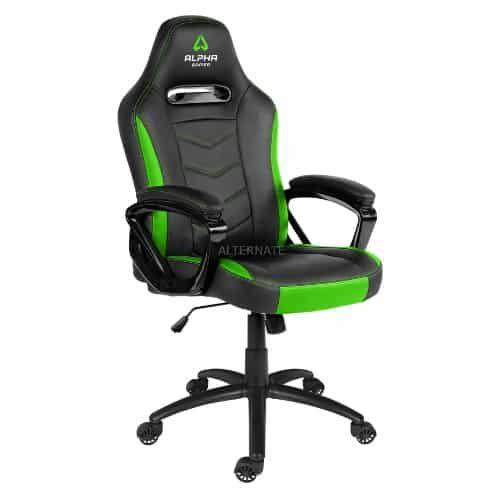 Vorbei! Alpha Gamer Kappa Gaming Chair AGKAPPA BK GRN für 57,88€ (statt 130€)