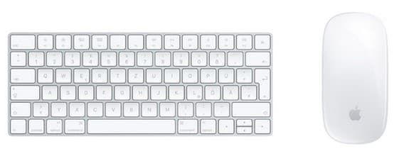 Apple Magic Keyboard + Apple Magic Mouse 2 ab 122,50€ (statt 150€)