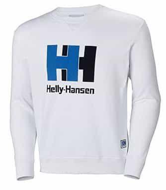 Helly Hansen Crew Sweater in Weiß für 34,50€ (statt 55€)
