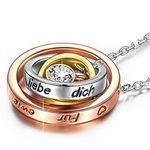 """Kami Idea – Halskette """"Mama ich liebe dich"""" für 9,99€ (statt 25€) – Prime"""