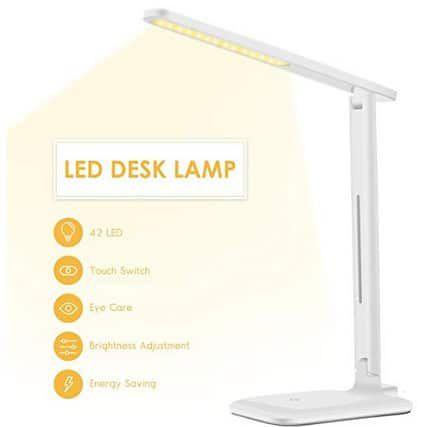 VICTSING LED Schreibtischlampe mit 3 Farb  & 3 Helligkeitsstufen ab 13,99€ (statt 19€)   Prime
