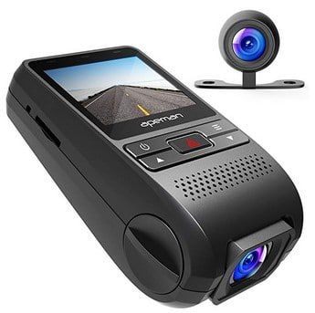 Apeman C550   Dashcam (1080p) inkl. Rückkamera für 49,95€ (statt 70€)