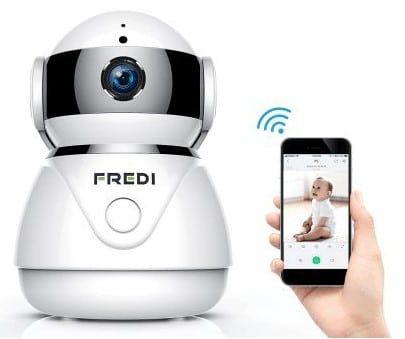 FREDI IP Cam mit 1080p & Bewegungsmelder für 29,99€ (statt 60€)