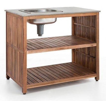 Premio Living Garden Kitchen Outdoorspüle für 119,95€ (statt 247€)