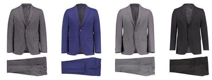 engelhorn Selection Herren Anzug Oxford in vielen Farben für 88€