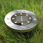 Utorch – Solarleuchte für den Rasen mit 8 LEDs für 5,12€