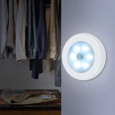 Utorch Nachtlicht mit 6 LEDs & Bewegungssensor für 2,48€