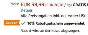 Homgeek Wasserkocher mit Schwanenhals für 28,79€ (statt 40€)