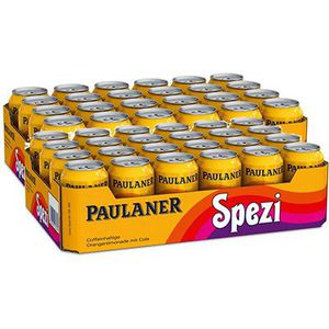 48 Dosen Paulaner Spezi inkl. Pfand für 32,28€ (statt 38€)