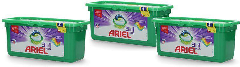 Ariel 3in1 Pods Colorwaschmittel (84WL) für 16,99€