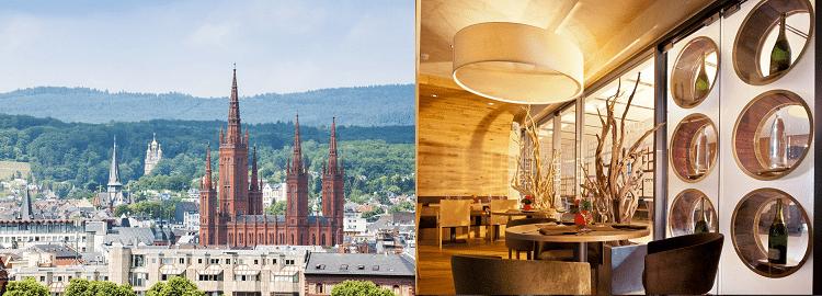 1   2 ÜN in Wiesbaden inkl. Frühstück, Willkommensgetränk, Führung in Sektkellerei & Casino Zugang ab 59€ p.P.