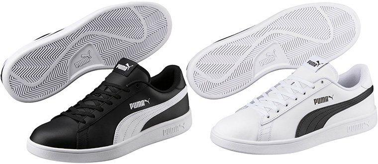 Puma Smash v2 L   Herren Sneaker in 2 Farben bis 48 für je 20€ (statt 25€)